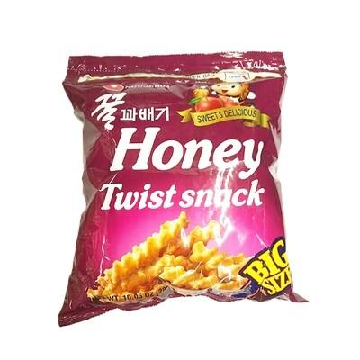 Nongshim Honey Flavored Twist Snack Big Size (10.05 Oz)