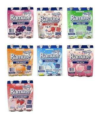 Sangaria Ramune 6 Bottles (6.76 Fl. Oz * 6)