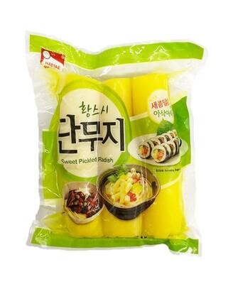 Haetae Sweet Pickled Radish Whole (2.2 LBS)