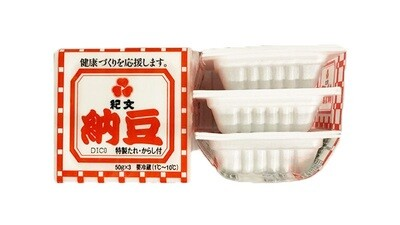 JFC Kibun Mini Natto 3 Packs (5.29 oz)