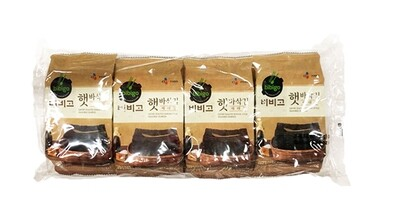 CJ Bibigo Savory Roasted Korean Seasoned Seaweed 8 Packs (0.18 Oz * 8)