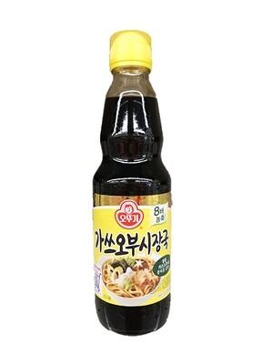 Ottogi Katsuobushi Soy Sauce (12.17 Fl. Oz)