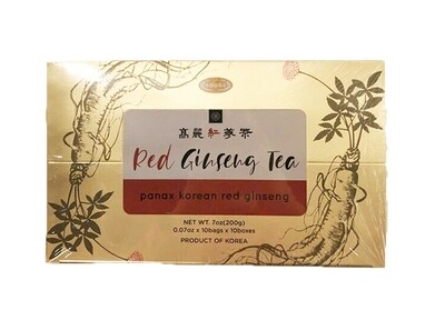 Panax Korean Red Ginseng Tea 10 bags (7 oz)