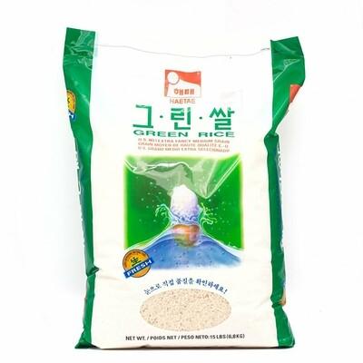 Haitati Green Rice 15LBS