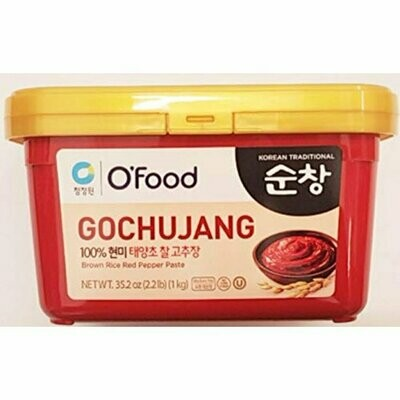 ChungJungOne Gochujang Brown Rice Red Pepper Paste (2.2 LBS)