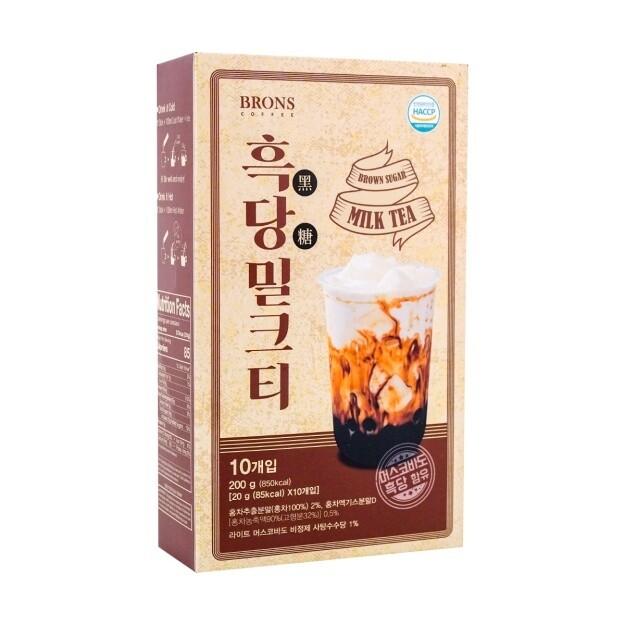 Brons Coffee Brown Sugar Milk Tea 30 Packets (.71 oz)