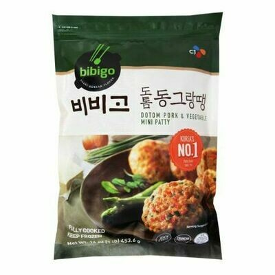 CJ Bibigo Korean Inspired Mini Patty Pork & Vegetable (16 Oz)