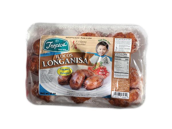 Tropics Ilocos Style Pork Longanisa (10 Oz)