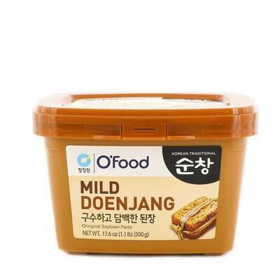 ChungJungOne Korean Mild Doenjang Soybean Paste (17.6 Oz)
