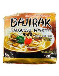 SamYang Bajirak Kalguksu Noodle (3.53Oz * 5 Packs)