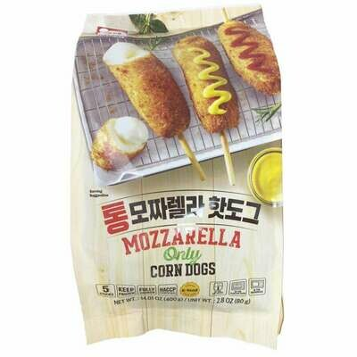 Haetae Mozzarella Only Corn Dogs 5 Packs (14.1 Oz)