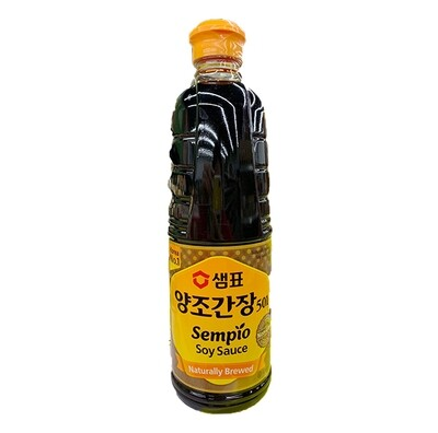 Sempio Naturally Brewed Soy Sauce (31.4 Fl. Oz)