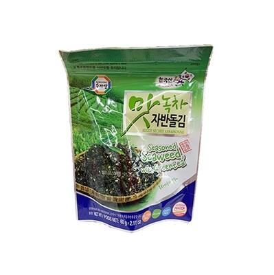 Wang Seasoned Seaweed with Green Tea (2.11 Oz)