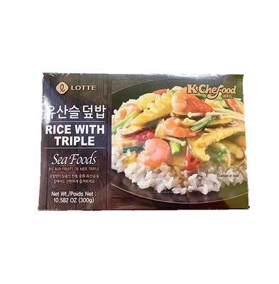 Lotte Rice with Triple Seafood (10.58 Oz)
