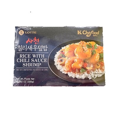Lotte Rice with Chili Sauce Shrimp (10.58 Oz)