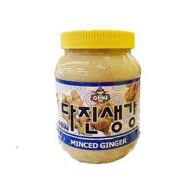 Assi Minced Ginger (1 LB)