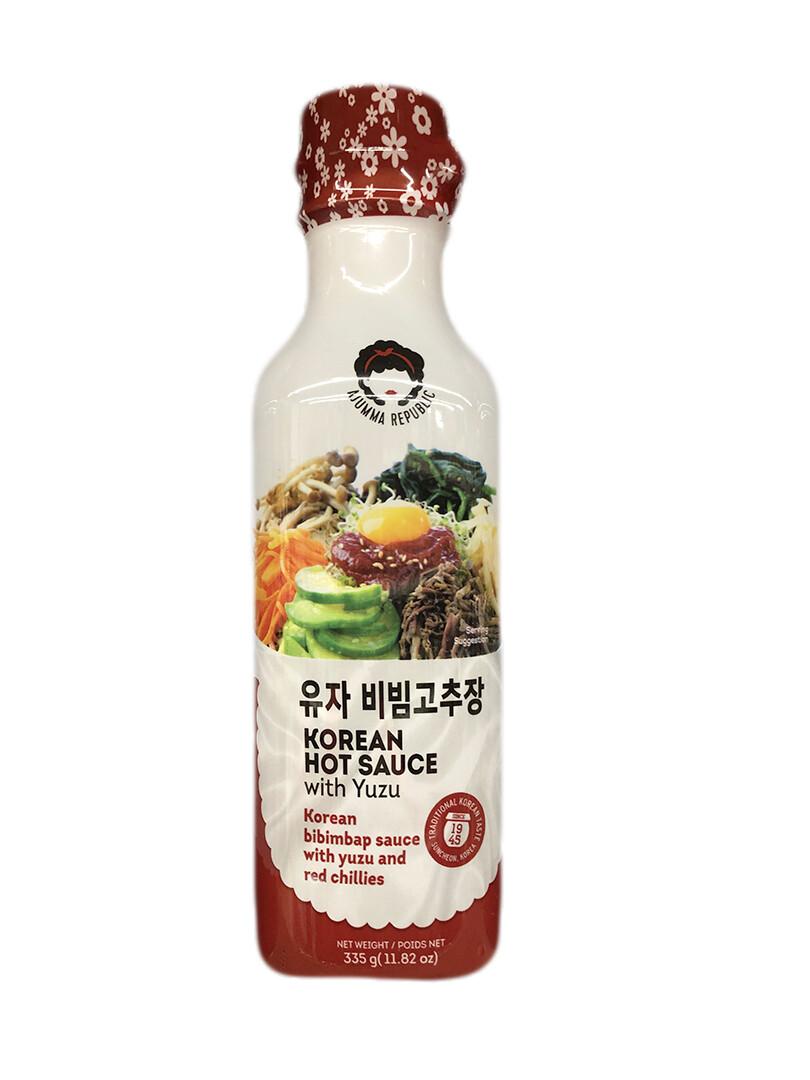 Ajumma Korean Hot Sauce with Yuzu (11.82 oz)