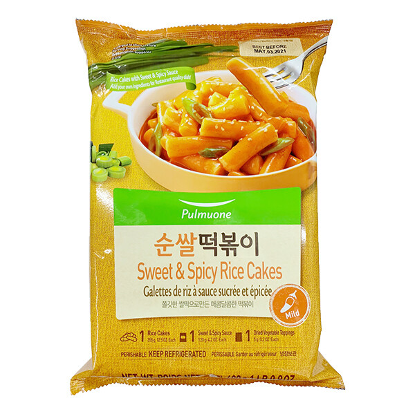 Pulmuone Sweet & Spicy Rice Cake (16.9 Oz)