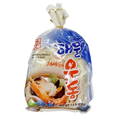 Assi Asian Style Noodle with Soup Base Seafood Flavor (22.43 Oz)
