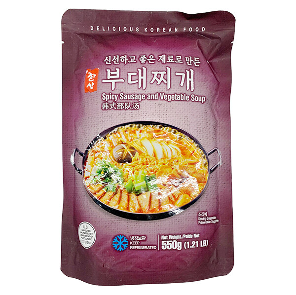HanSang Spicy Sausage and Vegetable Soup (19.4 Oz)