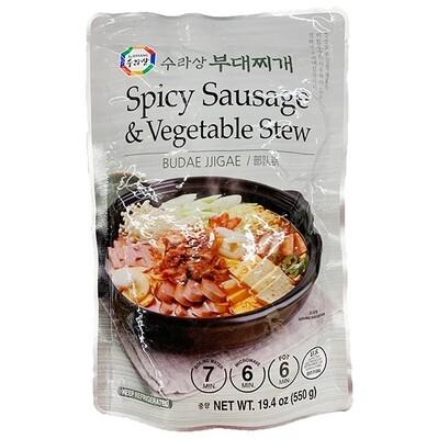 Wang Spicy Sausage & Vegetable Stew (19.4 Oz)
