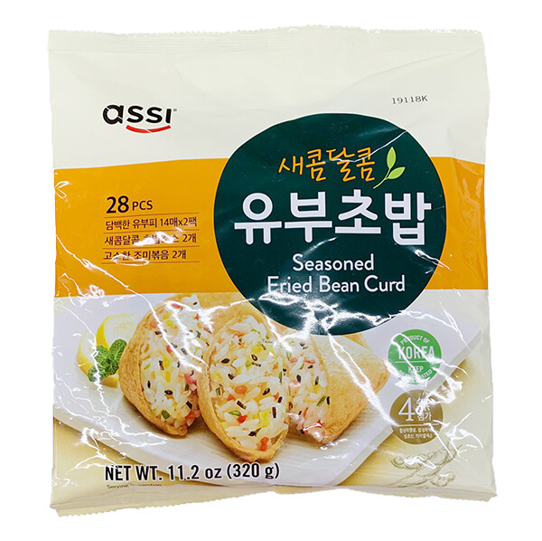 Assi Seasoned Fried Bean Curd (11.2 Oz)
