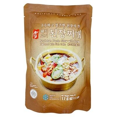 HanSang Soybean Paste Stew with Pork (17.6 Oz)