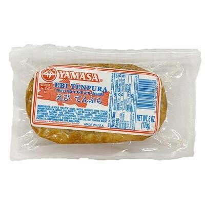 Yamasa Ebi Tenpura Fried Fish Cake w/ Shrimp (6 Oz)