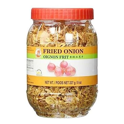 Cock Brand Fried Onion (8 Oz)