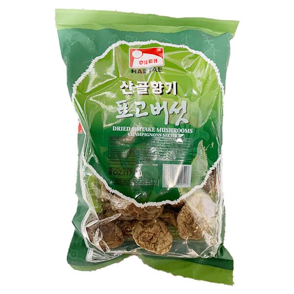 HaeTae Dried Shiitake Mushrooms (8 Oz)