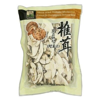 Jayone Sliced Dried Shiitake Mushroom (4 Oz)