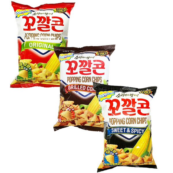 Lotte Popping Corn Chip (5.08 Oz)