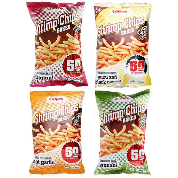 Calbee Shrimp Chips (3.3 Oz)