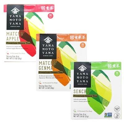 YamaMotoYama Green Tea 10 Bags (0.81 Oz)