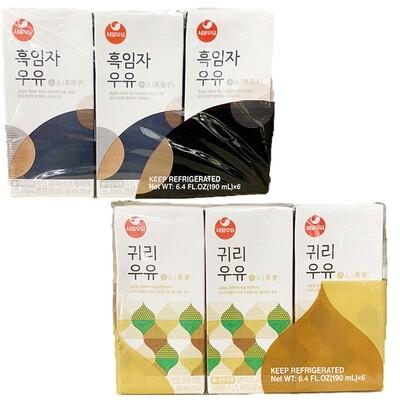 Seoul Milk (6.4 Fl.Oz. * 6 Packs)