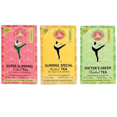 Triple Leaf Brand Herbal Tea 20 Bags (1.2 Oz)