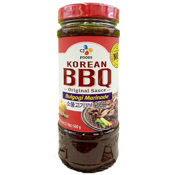 CJ Korean BBQ Sauce Bulgogi Marinade (17.63 Oz)