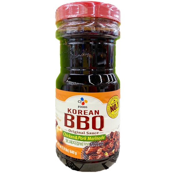 CJ Korean BBQ Sauce Chicken & Pork Marinade (29.63 Oz)