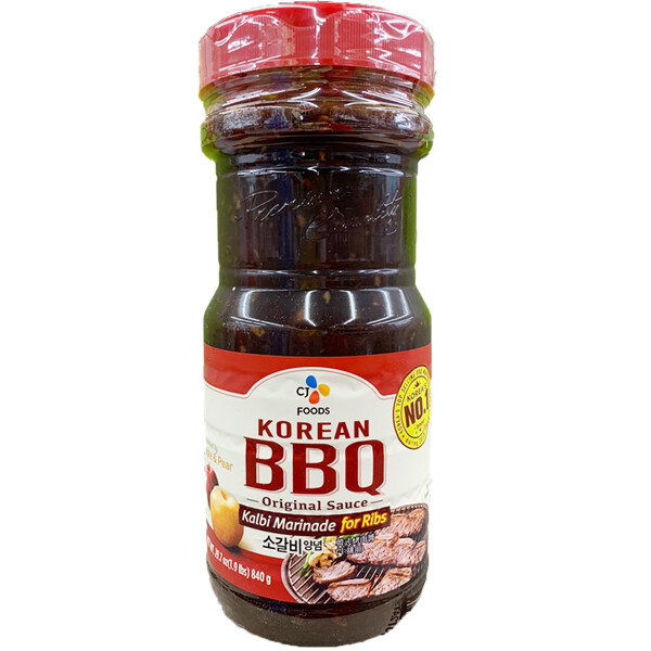 CJ Korean BBQ Sauce Galbi Marinade for Ribs (29.63 Oz)