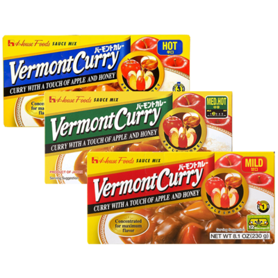 House Foods Vermont Curry Sauce Mix (8.11 Oz)