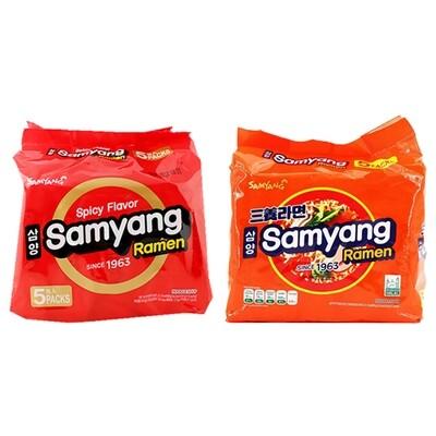 SamYang Samyang Noodles (4.23 Oz * 5 Packs)