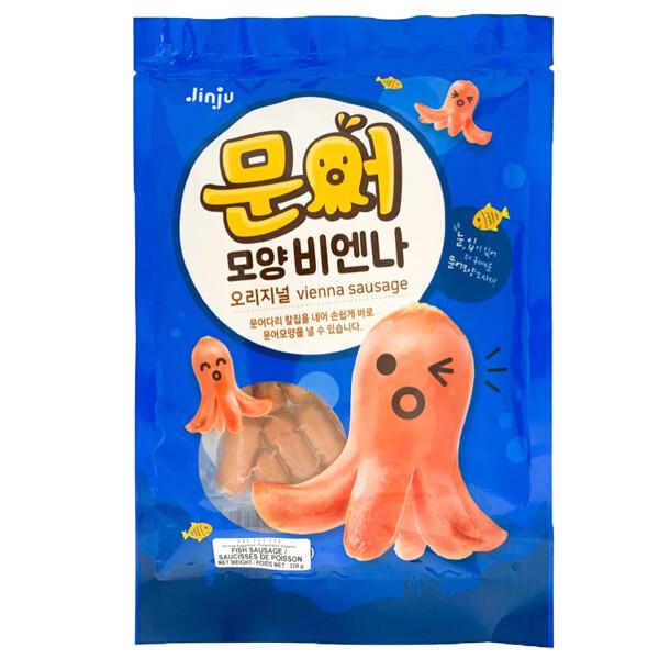 HaeTae Octopus Shape Fish Cake Sausage (11.28 Oz)