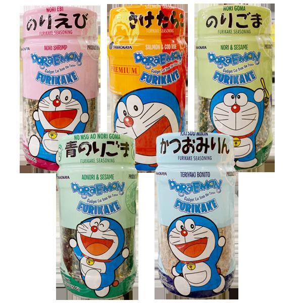 Takaokaya Doraemon Furikake (1.69Oz)