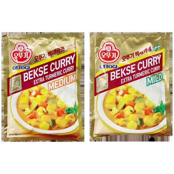 Ottogi Bekse Curry Extra Turmeric Curry (3.53 Oz)