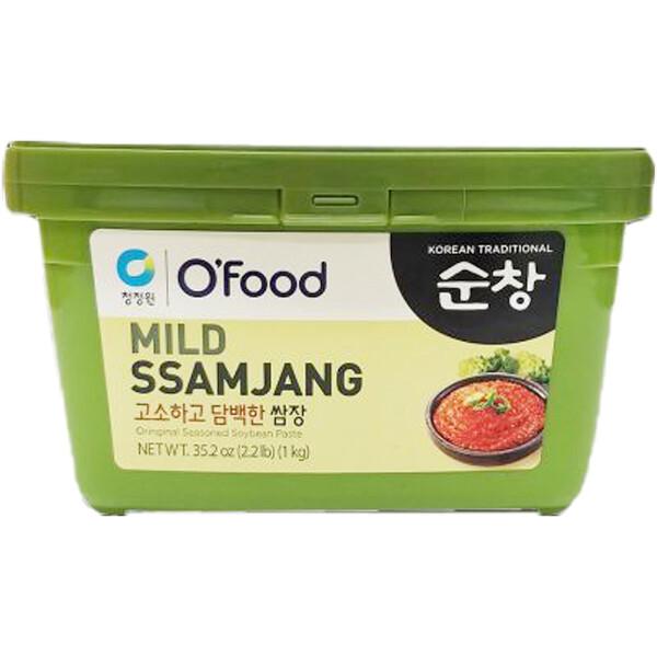 ChungJungOne Mild Ssamjang Seasoned Soybean Paste for Meat (2.2 LBS)