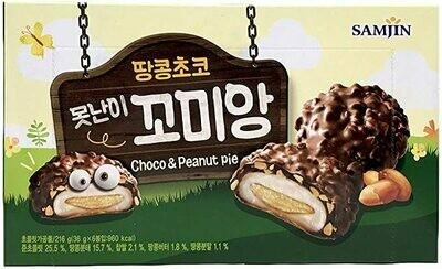 SamJin Choco & Peanut Pie (7.62 Oz)