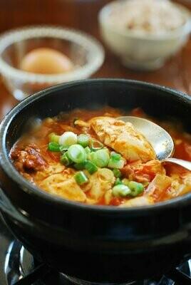 Extra Soft Tofu Stew