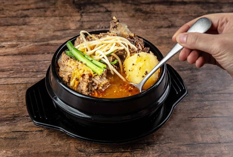 Spicy Pork Bone & Potato Soup