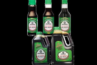 Kikkoman 37% Less Sodium Soy Sauce