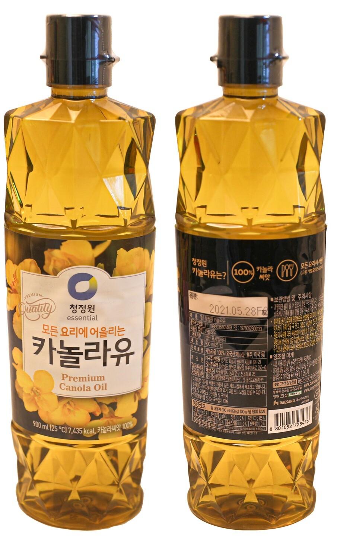 ChungJungOne Premium Canola Oil (30.43 Fl. Oz)